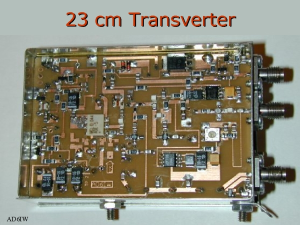 23 cm synthesized transverter. Black Bedroom Furniture Sets. Home Design Ideas
